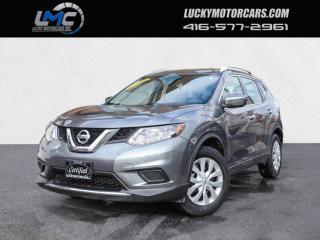 Used 2015 Nissan Rogue S-BACKUP CAM-BLUETOOTH-REMOTE STARTER-NO ACCIDENTS-80KMS for sale in Toronto, ON