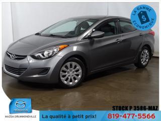 Used 2013 Hyundai Elantra |AIRCLIM|GRÉLEC|AUTOMATIQUE|MOTEUR NEUF*** for sale in Drummondville, QC