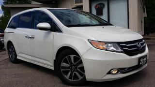 Used 2015 Honda Odyssey Touring -LEATHER! NAV! BACK-UP CAM! BSM! DVD! for sale in Kitchener, ON