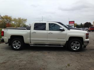 Used 2014 Chevrolet Silverado 1500 LTZ HEATED LEATHER! NAV! REMOTE START! BACKUP CAM! for sale in Aylmer, ON