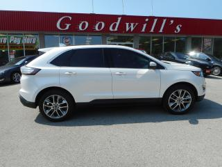 Used 2016 Ford Edge HEATED, COOLED LEATHER SEATS! NAVI! BLUETOOTH! for sale in Aylmer, ON