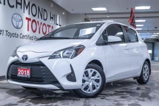 Used 2018 Toyota Yaris HATCHBACK LE for sale in Richmond Hill, ON