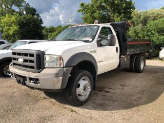 Used 2005 Ford F-550 AS IS! 11' DUMP BOX! for sale in Aylmer, ON