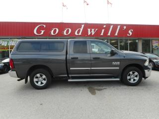 Used 2014 RAM 1500 ST! QUAD CAB! CLEAN CARPROOF! 6 CYL! for sale in Aylmer, ON