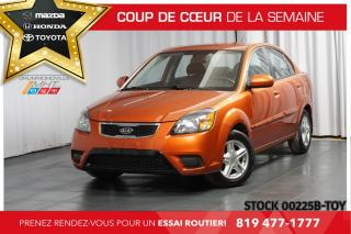 Used 2010 Kia Rio BLUETOOTH| CLIMATISATION| SIÈGES CHAUFFANTS| for sale in Drummondville, QC