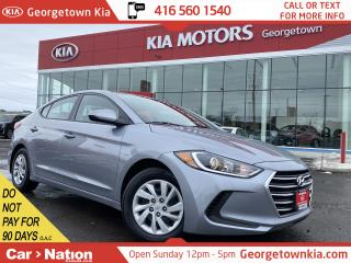 Used 2017 Hyundai Elantra LE | HEATED SEATS | BLUETOOTH | 32,117KMS | for sale in Georgetown, ON