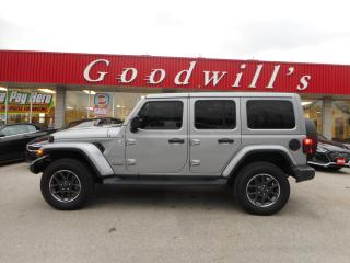 Used 2018 Jeep Wrangler Unlimited SAHARA! UNLIMITED! CLEAN CARPROOF! NAV! BLUETOOTH! for sale in Aylmer, ON