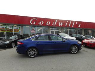 Used 2014 Ford Fusion SE! HEATED LEATHER! BLUETOOTH! for sale in Aylmer, ON