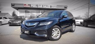 Used 2017 Acura RDX TECH PACKAGE | TEXT US|647.678.7778| NAVI | LEATHER| SUNROOF| AWD| REMOTE STARTER| BLINDSPOTS| for sale in Mississauga, ON