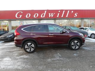 Used 2016 Honda CR-V TOURING! HEATED LEATHER! NAVI! MEMORY SEATS! for sale in Aylmer, ON