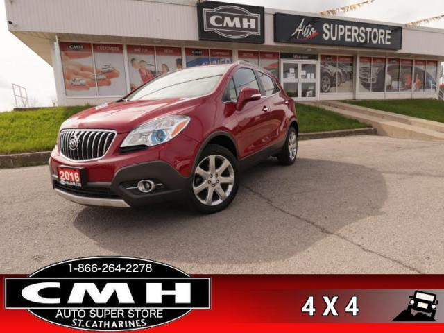 2016 Buick Encore Premium  AWD NAV LEATH ROOF CAM CW BS