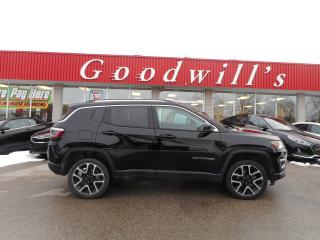 Used 2018 Jeep Compass LTD! HEATED LEATHER! NAVI! REMOTE START! SUNROOF! for sale in Aylmer, ON