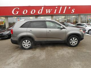 Used 2013 Kia Sorento LX! SUPER CLEAN! LOCAL TRADE! REMOTE START! for sale in Aylmer, ON