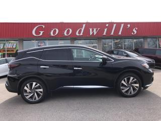 Used 2019 Nissan Murano SL! 20 WHEELS! HEATED LEATHER! BLIND SPOT! NAV! for sale in Aylmer, ON