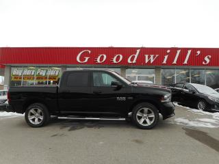 Used 2014 RAM 1500 CREW! REMOTE START! REAR SLIDING WINDOW! for sale in Aylmer, ON