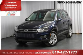Used 2012 Volkswagen Tiguan COMFORTLINE| CUIR| 4MOTION for sale in Drummondville, QC