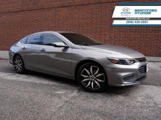 Used 2017 Chevrolet Malibu LEATHER | NAVIGATION | SUNROOF | LOCAL TRADE IN  - $118 B/W for sale in Brantford, ON