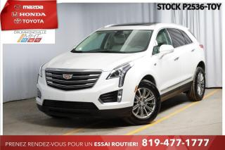 Used 2017 Cadillac XT5 LUXURY  BLANC SUR BLANC  RARE for sale in Drummondville, QC