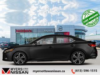 New 2020 Nissan Sentra SR CVT  - Premium Package - $175 B/W for sale in Ottawa, ON