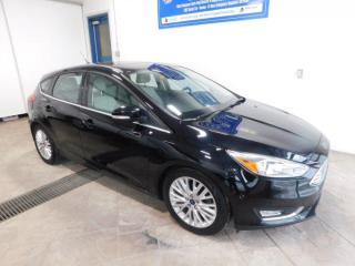 Used 2016 Ford Focus Titanium LEATHER NAVI SUNROOF for sale in Listowel, ON