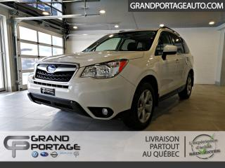 Used 2016 Subaru Forester AWD Familiale CVT 5 portes 2.5i Touring for sale in Rivière-Du-Loup, QC