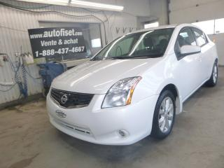 Used 2012 Nissan Sentra 4dr   AUTOMATIQUE,  $34. par semaine +taxes for sale in St-Raymond, QC