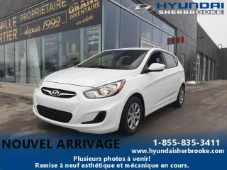 Used 2013 Hyundai Accent GL+DEMARREUR+A/C+BANCS CHAUFF+CRUISE for sale in Sherbrooke, QC