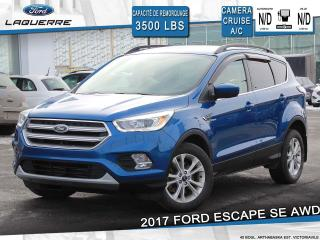 Used 2017 Ford Escape SE**AWD*CAMERA*BLUETOOTH*A/C** for sale in Victoriaville, QC