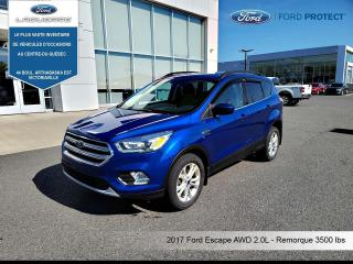 Used 2017 Ford Escape SE AWD **CAMERA*BLUETOOTH*A/C** for sale in Victoriaville, QC