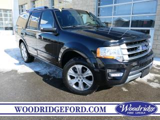 Used 2017 Ford Expedition Platinum ***PRICE REDUCED*** 3.5L, NAVIGATION, SUNROOF, 7 PASSENGER, PWR RUNNING BOARDS. for sale in Calgary, AB