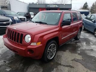 Used 2009 Jeep Patriot 4WD 4DR for sale in Lemoyne, QC