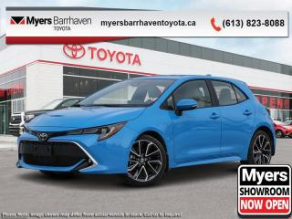 New 2020 Toyota Corolla Hatchback XSE  - Navigation - $191 B/W for sale in Ottawa, ON