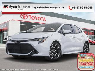 New 2020 Toyota Corolla Hatchback SE Upgrade  - Navigation - $177 B/W for sale in Ottawa, ON
