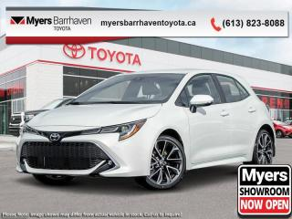 New 2020 Toyota Corolla Hatchback XSE  - Navigation - $193 B/W for sale in Ottawa, ON