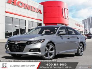 New 2020 Honda Accord Touring 1.5T LANEWATCH™ CAMERA | HEAD-UP DISPLAY | HONDA SENSING TECHNOLOGIES for sale in Cambridge, ON