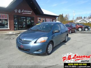 Used 2008 Toyota Yaris AUTOMATIQUE for sale in St-Prosper, QC