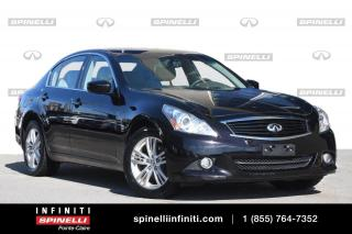 Used 2013 Infiniti G37 TOIT / CAMERA / SIEGES CHAUFFANTS TOIT / CAMERA / SIEGES CHAUFFANTS for sale in Montréal, QC