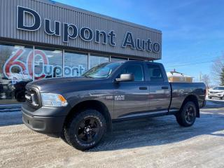 Used 2016 RAM 1500 Cabine quad 4RM, 140,5 po ST for sale in Alma, QC