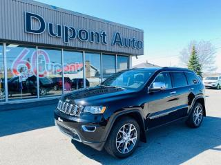 Used 2019 Jeep Grand Cherokee LIMITED 4X4 for sale in Alma, QC