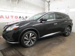 Used 2015 Nissan Murano AWD Platinum NAVI BOSE MAGS 20 CUIR TOIT PANOR. for sale in St-Eustache, QC