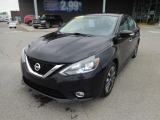 Used 2016 Nissan Sentra 4dr Sdn CVT SR,MAGS,A/C,CRUISE,BLUETOOTH,CAMERA for sale in Mirabel, QC