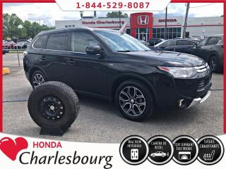 Used 2015 Mitsubishi Outlander GT AWD **7 PASSAGERS**CUIR+TOIT OUVRANT* for sale in Charlesbourg, QC