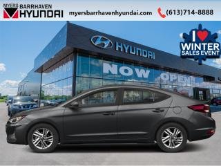 New 2020 Hyundai Elantra Essential IVT  - Heated Seats - $119 B/W for sale in Nepean, ON