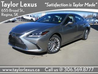 New 2020 Lexus ES 350 PREMIUM for sale in Regina, SK