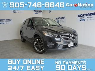 Used 2016 Mazda CX-5 GT | AWD | LEATHER | SUNROOF | NAV | BOSE | 68 KM for sale in Brantford, ON