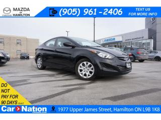 Used 2016 Hyundai Elantra GL | XM RADIO | HEATED SEATS | SAFETY CERTIFIED for sale in Hamilton, ON
