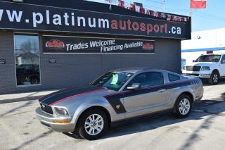 Used 2009 Ford Mustang V6 LEATHER!! AUTOMATIC!! STRIPING!! for sale in Saskatoon, SK