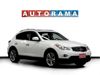 Used 2015 Infiniti QX50 4WD Navigation Leather Sunroof Backup Cam for sale in Toronto, ON