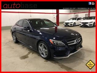 Used 2017 Mercedes-Benz C-Class C300 4MATIC PREMIUM SPORT LED HEATED STEERING WHEEL for sale in Vaughan, ON
