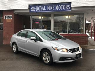 Used 2015 Honda Civic Sedan 4dr Auto LX for sale in Toronto, ON